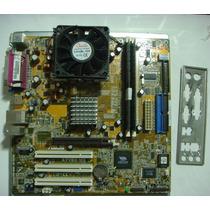 Kit Placa Mãe Asus A7v8x-mx+ Processador Oferta Relâmpago
