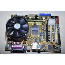 Placa Mãe Asus P5gc-mx/1333 + Processador + Memoria + Cooler