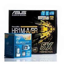 Kit Placa Mãe Asus H81m-a/br + Intel Core I5 4460 Lga 1150