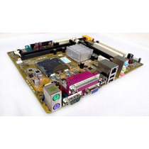 Kit Placa Mãe 775 Ddr2 Ipm31+core 2 Duo+1gb Memória +cooler!