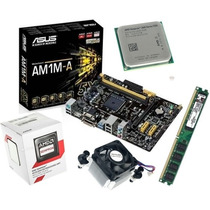 Kit Asus Am1m-a/br + Sempron Dual Core 2650 + 8gb Kingston