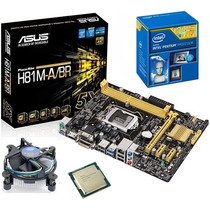 Kit Asus H81m-a/br Hdmi Usb 3.0+ Dual Core G3250 3.2ghz 3m