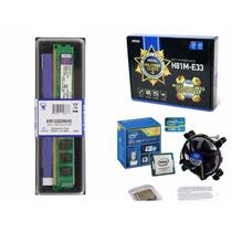 Kit Msi H81m-e33 + Intel® I5 4460 Core 4º Ger. + 4gb Ddr3