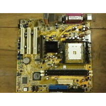 Placa Mãe Asus K8v-mx Soquete 754 Semprom Atlhon - Garantia