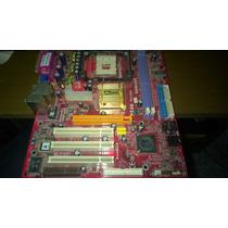 Placa-mãe Pc Chips P25g Socket 478 Ddr1 Por R$15,00 + Frete