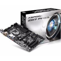 Placa Mãe Asrock P/ Intel Z87 Pro3 Lga1150 Windows 8.1 Ready