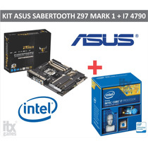 Kit Gamer Asus Sabertooth Z97 Mark 1 + Intel I7 4790 3,6ghz