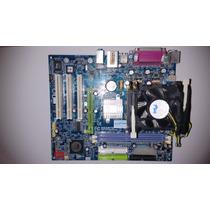 Placa Mãe Gigabyte Ga-8vm800m C/ Processador 2.13gb ( Usada)