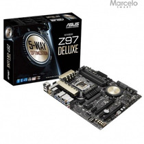 Placa Mãe Asus Atx Intel Lga 1150 Z97-deluxe Frete Grátis