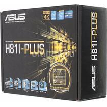 Placa Mãe Mini Itx 1150 Asus H81i Plus Lga Intel H81