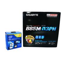 Kit Gigabyte Ga-b85m-d3ph Usb 3.0 + Intel I3 4170 3.70ghz