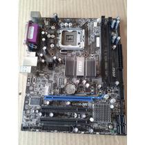 Placa Mae Msi G41m-s01 Ms-7592 (defeito Não Da Video)