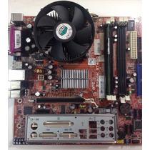 Kit Placa Mãe + Processador Dual Core + Cooler Intel