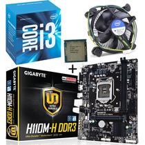 Kit Gigabyte Ga-110m-h + Intel Core I3 6100 3.70ghz 3mb 1151