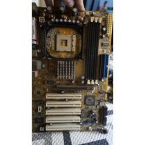 Placa Mãe Asus P4v8x-x Socket 478