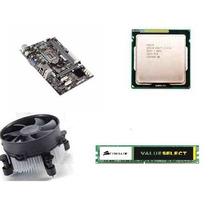 Kit Intel Core I3 3250 3.5 Ghz + Placa Ecs H61 + 4gb Ddr3