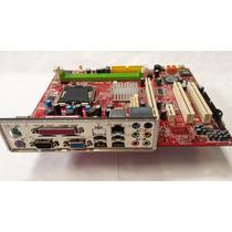 Placa Mãe Intel Lga775 Ddr2 Ms-7255 P4m900m2 C/ Espelho
