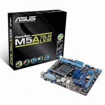 Placa Mãe Asus M5a78l-m Lx/br Am3+ Ddr3 Radeon 1gb Onboard