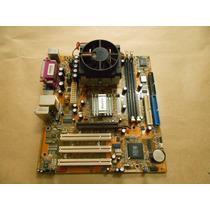 Kit Placa Mãe Soquete 462 Winfast741m01c-g-6l