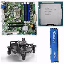 Kit Q77m 1155 Até 32gb + Core I5 3470 3.2 Ghz + 4gb Ddr3