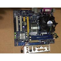 Placa Mãe Foxconn G31mx-k + Processador Core2duo E7300