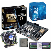 Kit Asus H110m-d D3 + Pentium G4400 3.30ghz Lga 1151 + 8gb