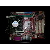 Placa Mãe Intel Pm8m-vms Ddr400 Proc 478b