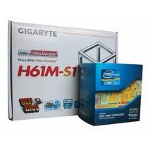 Kit Intel Placa Gigabyte Ga-h61m-s1 Core I3 3250 3.5ghz 1155