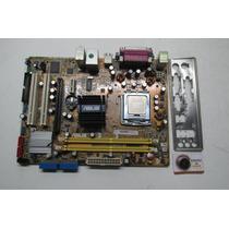 Kit Placa Mãe Asus P5gc-mx Com Processador Core 2 Duo E4500