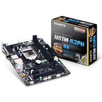 Placa Mae Lga 1150 Gigabyte Ga-h81m-s3ph Intel Core I3 Ddr3