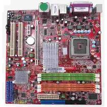 Placa Mãe Msi G965mdh Ver: 1.4 (ms-7276) Ddr2 775 C/ Espelho