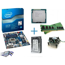 Kit Placa Mãe Intel Core I5 3470 +4gb Ram+cooler + Hd 500gb!