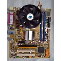 Placa Mae Pos-pigg41bo Ddr3 Com Processador Celeron