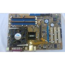 Placa Mãe Asus P4800d-x(478) + Processador P4 3.0ghz+ Cooler