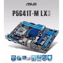 Placa Mãe Asus P5g41t - M Lx3 ( Processador E2200 )