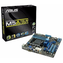 Placa Mãe Am3+ Asus M5a78l-m Lx Plus Ddr3 Suporta Cpu 125w
