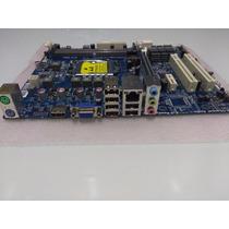 Placa Mãe Intel Ecs H61 Lga 1155 Core I3 / I5 / I7 Ddr3 Hdmi