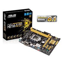 Placa Mãe Asus H81m-a/br Lga 1150 Intel Suporte Ultra Hd 4k
