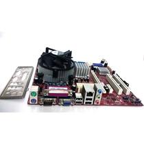 Placa Mãe Msi 945gcm5 V2 Processador Xeon Cooler Espelho