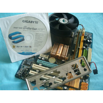 Kit 775 Giga Byte G-31 Es2c+2gb Com Coler Hd Ide Mais Cabos