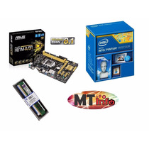 Kit Asus H81m-a + Proc Pentium G3260 + 4gb Ddr3 Kingston