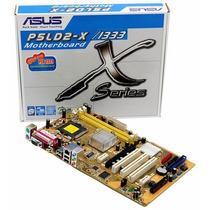 Placa Mae Lga775 P5ld2x-1333+dual Core Nova Frete Gratis