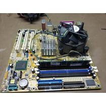 Placa Mae Asus P5p800-mx + Proc. Pentium 4 3.0 Ghz + Brinde