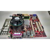 Placa Mãe Msi Pos-miq35a + Core 2 Duo E8400 + 2gb Ddr2