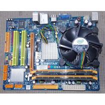 Placa-mãe Biostar G41-m7 + Proc Core 2 Duo E7300 + 2gb