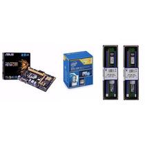 Kit Asus H81m-c/br + Intel I3 4170 + 2 Memorias 4gb 1600mhz