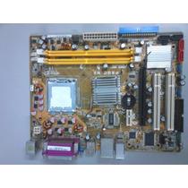 Placa Mãe Asus P5gcmx - Peças E/ou Reparo - Veja Descrição