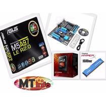Kit Asus M5a97 Le R2.0 + Amd Fx 6300 + 4gb Ddr3 Kingston
