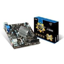 Placa Mãe Msi Dual Core J1800i Ddr3/hdmi/mini-itx + 4gb Mem