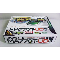 Placa Mãe Gigabyte Am3 Ma770t-ud3 Phenom X6 Athlon Ddr31666